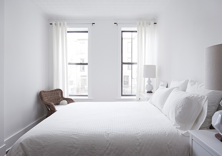 Best ideas about All White Bedroom . Save or Pin THE ALL WHITE BED STYLE STATEMENT Now.