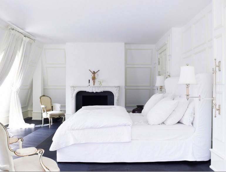 Best ideas about All White Bedroom . Save or Pin The Best White Designs For Charming Master Bedrooms Now.