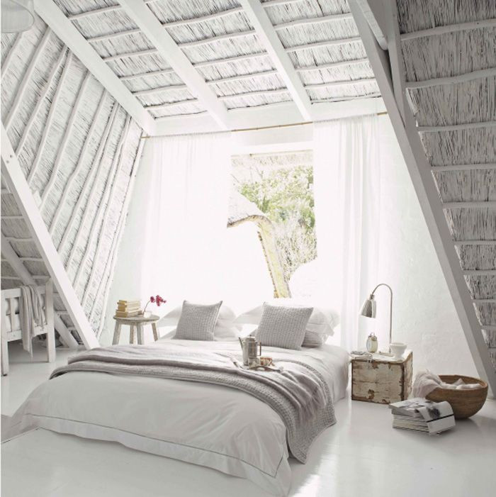 Best ideas about All White Bedroom . Save or Pin White Coastal Decor Weekend Pins Now.