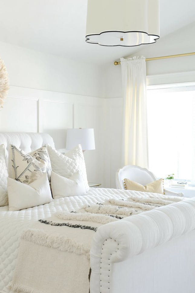 Best ideas about All White Bedroom . Save or Pin 12 Ways to Detox Your Bedroom With All White Everything Now.