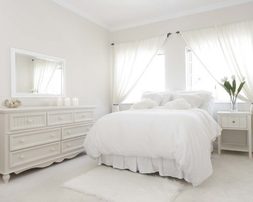 Best ideas about All White Bedroom . Save or Pin All White Bedroom Now.