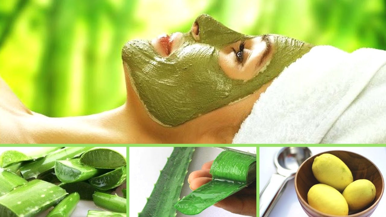 Best ideas about Aloe Face Mask DIY . Save or Pin DIY Aloe Vera Face Mask For Skin And Hair 🌱🌿 Now.