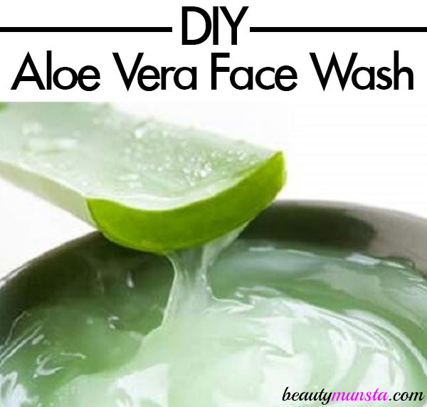 Best ideas about Aloe Face Mask DIY . Save or Pin DIY Aloe Vera Cleanser Face Wash Recipe Now.