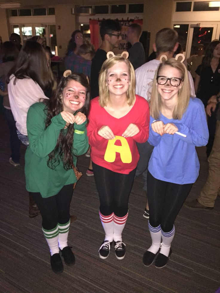 Best ideas about Alvin And The Chipmunks DIY Costume . Save or Pin DIY Alvin and the Chipmunks group costume Now.