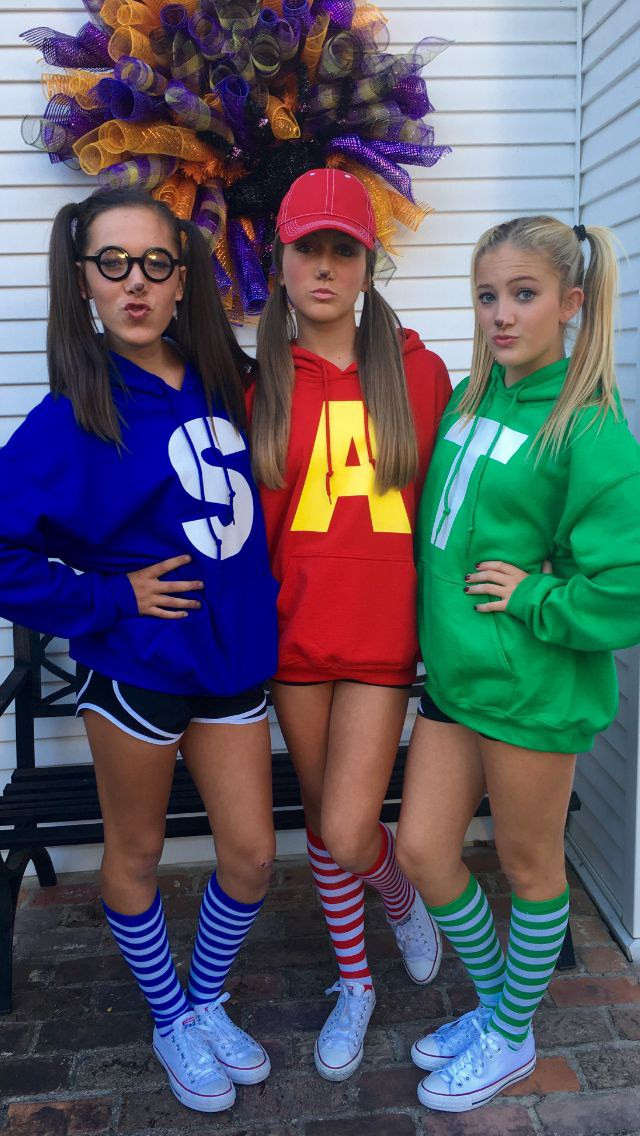 Best ideas about Alvin And The Chipmunks DIY Costume . Save or Pin 31 Greatest DIY Halloween Costumes For College Students Now.