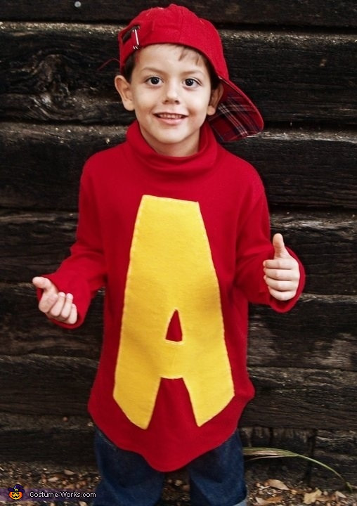 Best ideas about Alvin And The Chipmunks DIY Costume . Save or Pin Alvin and the Chipmunks Costume Now.