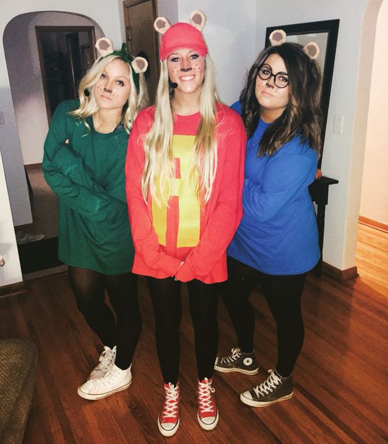 Best ideas about Alvin And The Chipmunks DIY Costume . Save or Pin 50 Bold And Cute Group Halloween Costumes For Cheerful Now.