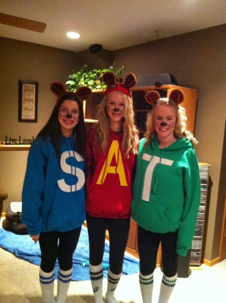 Best ideas about Alvin And The Chipmunks DIY Costume . Save or Pin Imaginations at Play on Halloween Now.