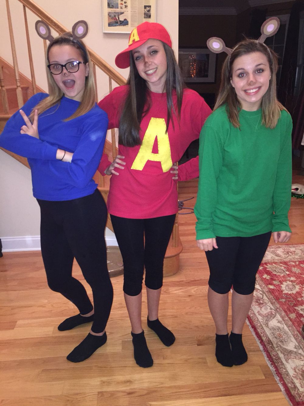 Best ideas about Alvin And The Chipmunks DIY Costume . Save or Pin Alvin and the Chipmunks DIY Halloween costume Now.