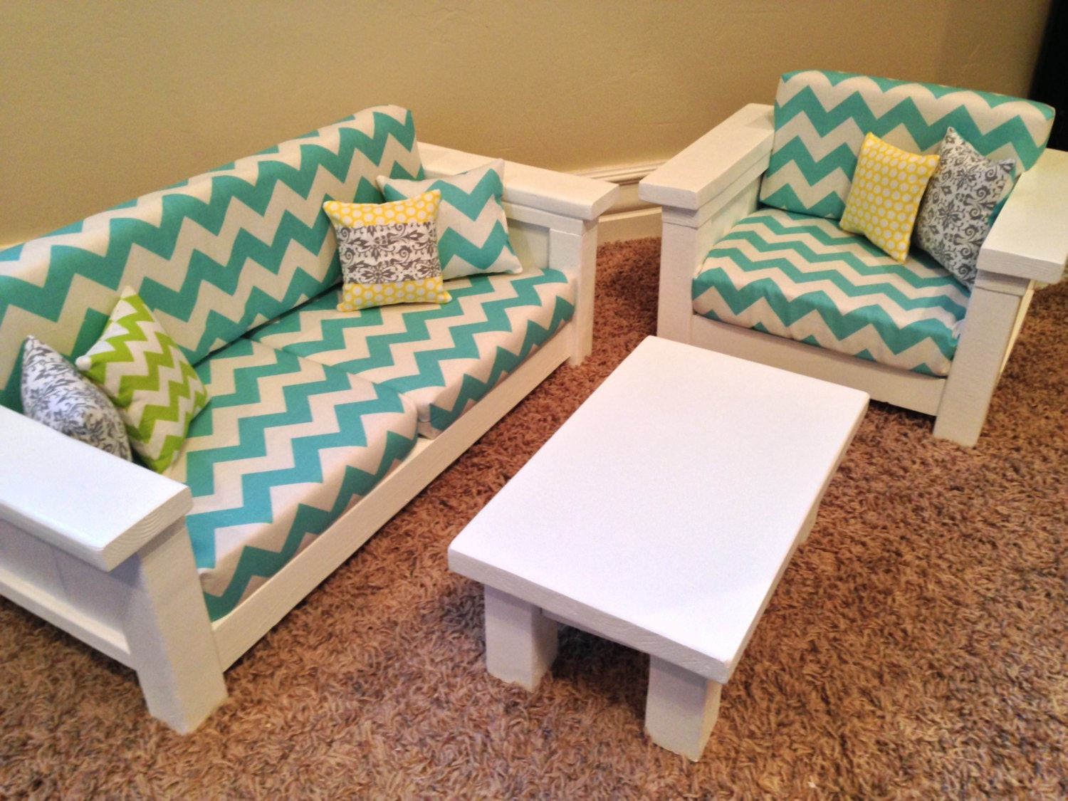 Best ideas about American Girl Doll Furniture DIY . Save or Pin American Girl Doll Furniture 18 doll size 3 pc by Now.