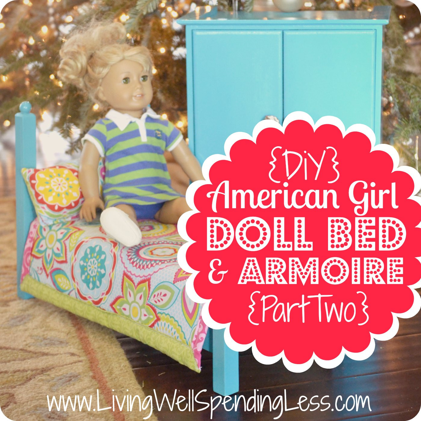 Best ideas about American Girl Doll Furniture DIY . Save or Pin DIY American Girl Doll Bed Part 2 Now.