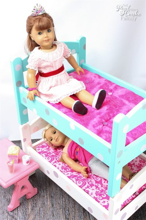 Best ideas about American Girl Doll Furniture DIY . Save or Pin DIY American Girl Doll Bunk Beds Now.