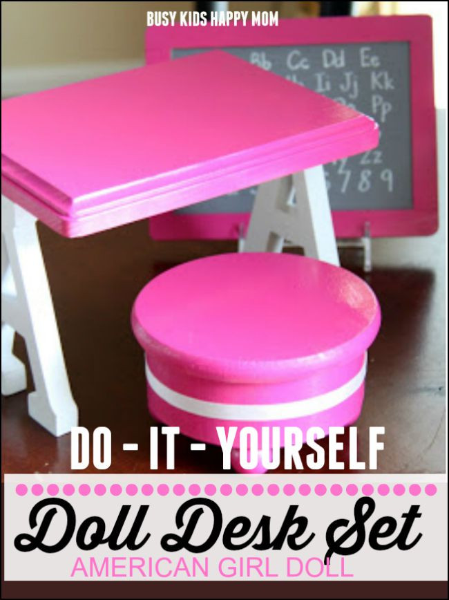 Best ideas about American Girl Doll Furniture DIY . Save or Pin How to make your own American Girl Doll Furniture Now.
