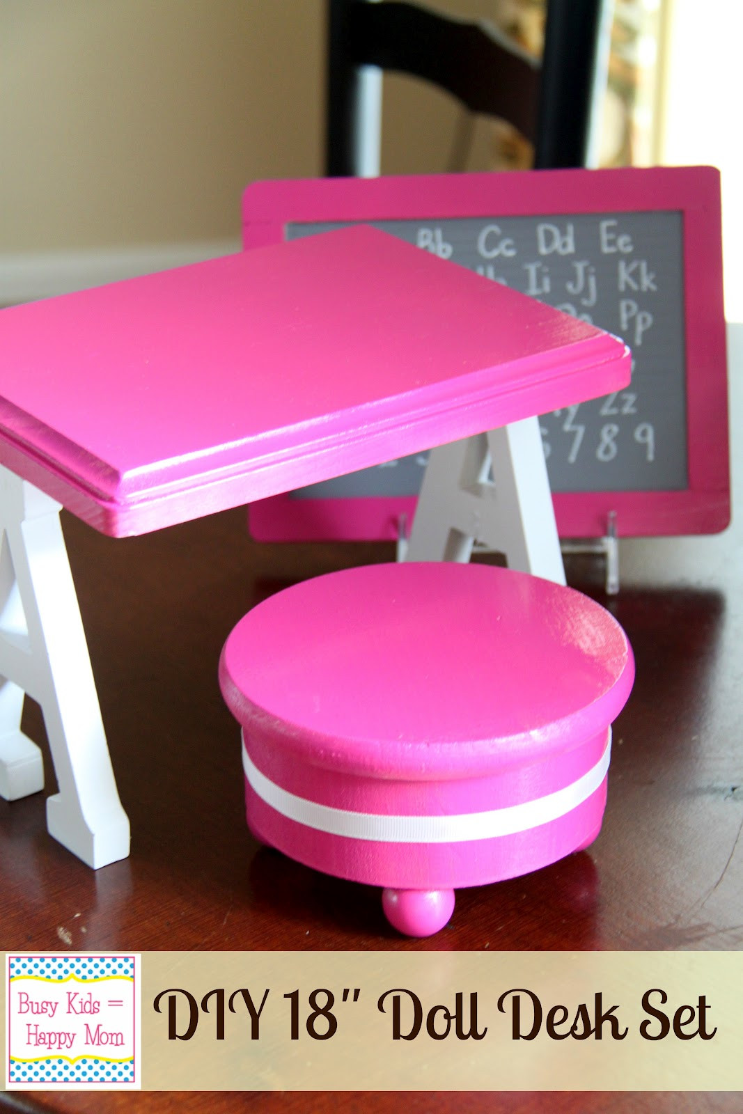 Best ideas about American Girl Doll Furniture DIY . Save or Pin DIY American Girl Doll Furniture Now.