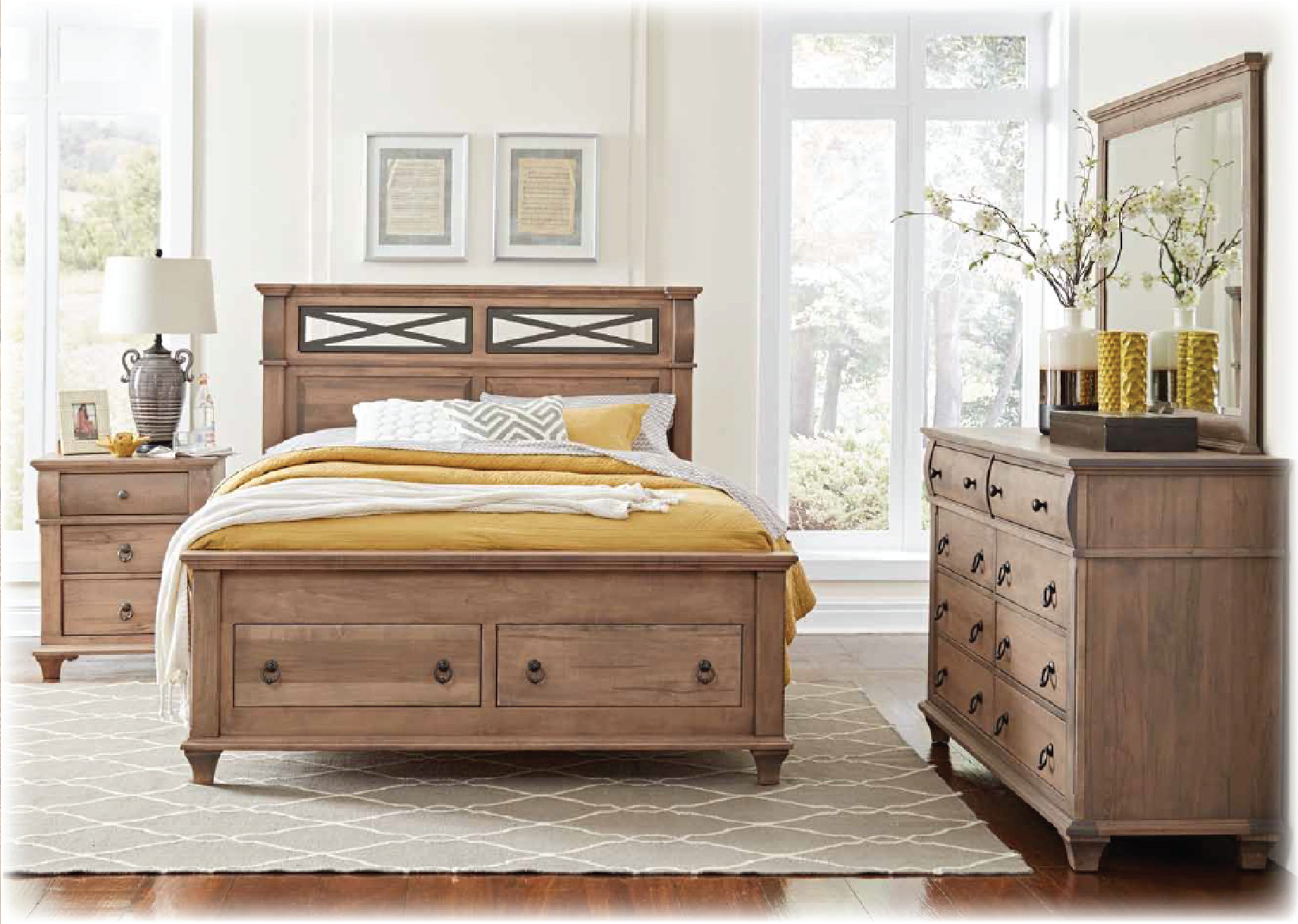 Best ideas about Amish Bedroom Furniture . Save or Pin Amish Furniture Sheely s Furniture & Appliance Ohio Now.