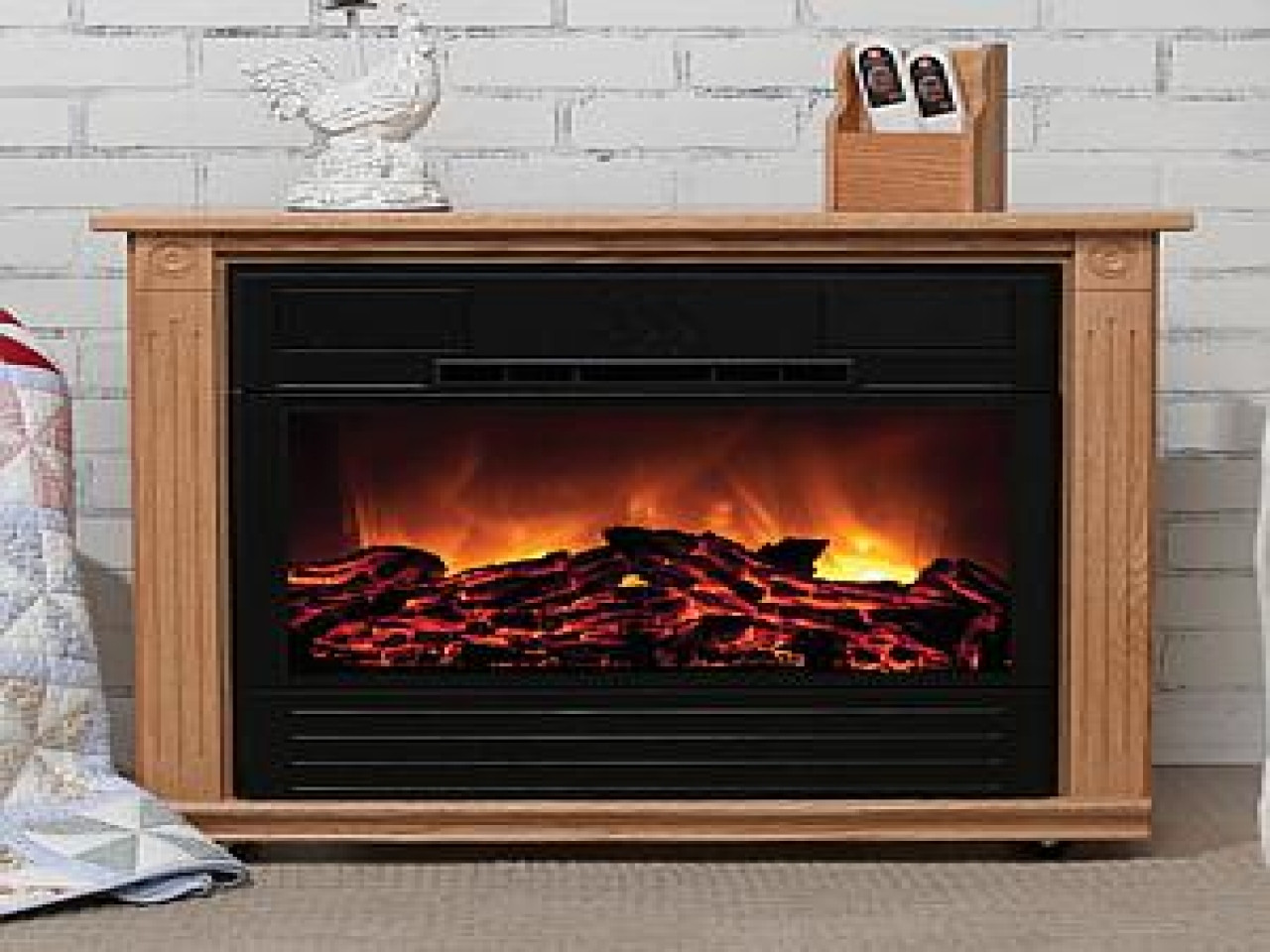 Best ideas about Amish Fireplace Heater . Save or Pin Electric heaters fireplace amish made electric fireplace Now.
