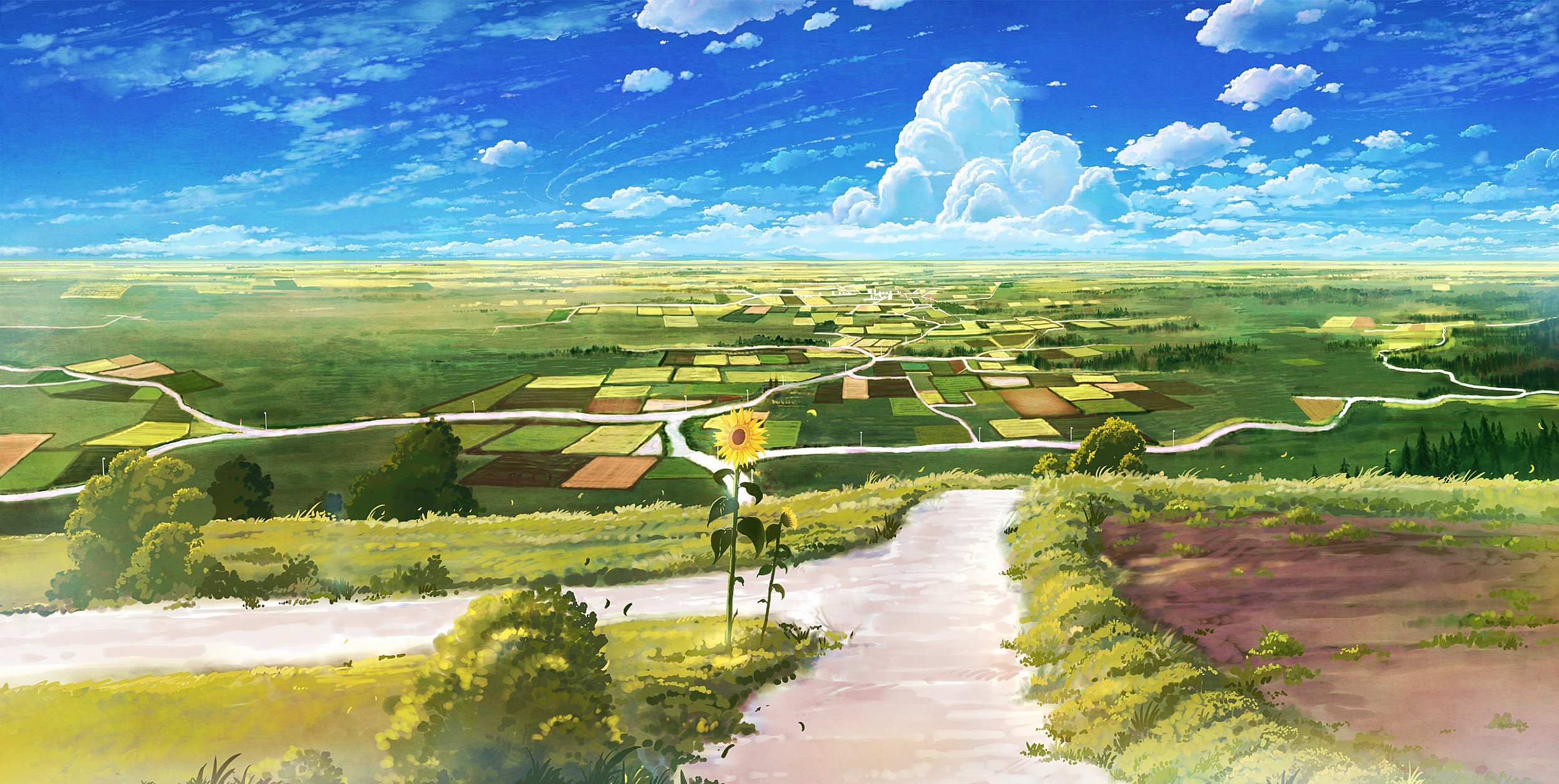 Best ideas about Anime Landscape Wallpaper . Save or Pin Free Anime Landscape Backgrounds Now.