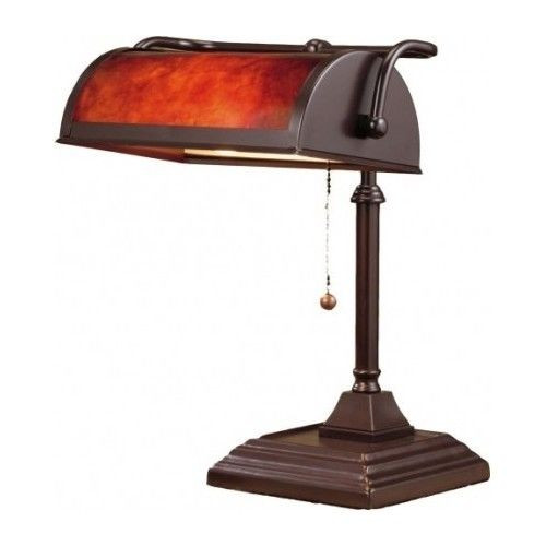 Best ideas about Antique Desk Lamp . Save or Pin Bankers Desk Lamp Vintage Antique Shade Lighting fice Now.