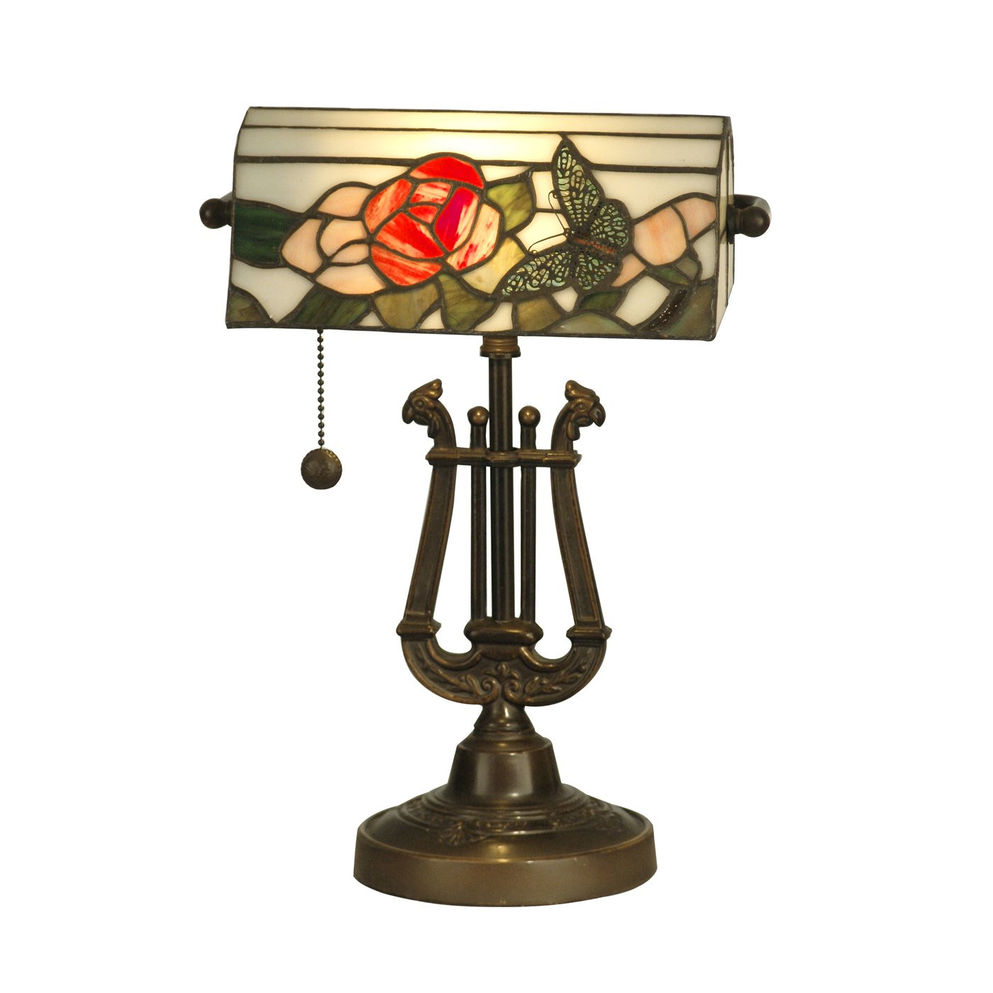 Best ideas about Antique Desk Lamp . Save or Pin Dale Tiffany TT Broadview Table Desk Lamp Antique Now.