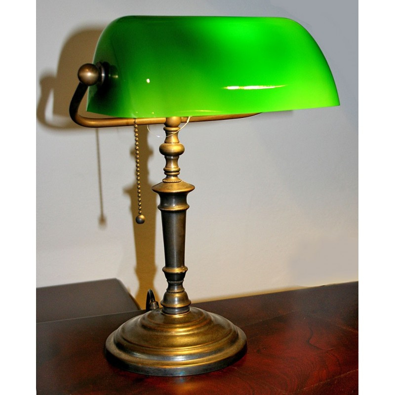 Best ideas about Antique Desk Lamp . Save or Pin Bankers Lamp Traditional Handmade Antique Desk Lamp Now.