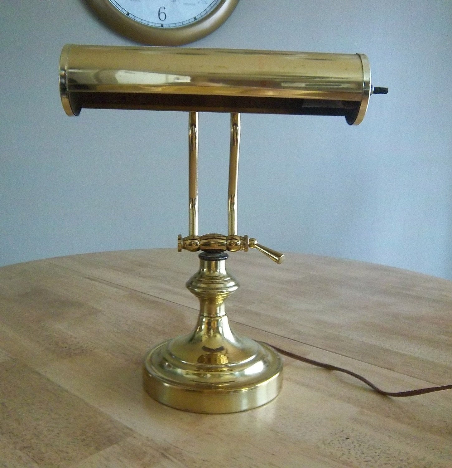 Best ideas about Antique Desk Lamp . Save or Pin Vintage Brass Library Desk Lamp Now.