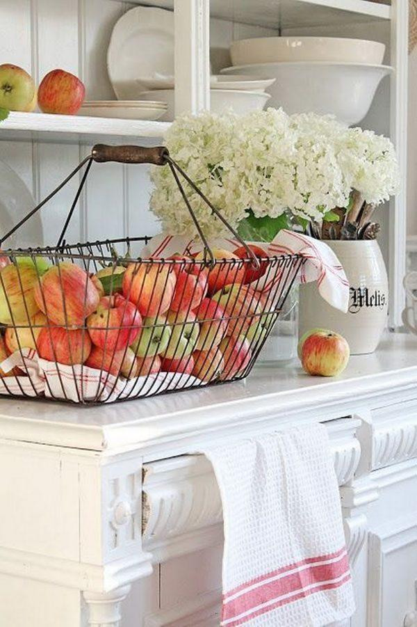 Best ideas about Apple Kitchen Decor Cheap . Save or Pin Bring autumn decor to your home Apple fall decor Now.