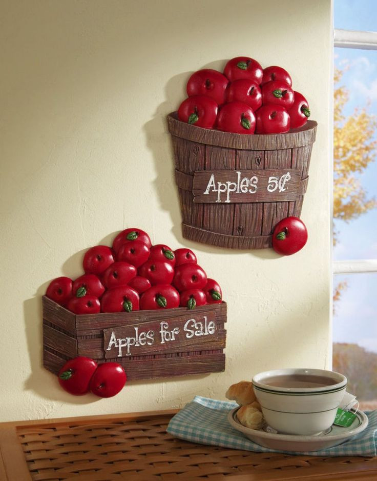 Best ideas about Apple Kitchen Decor Cheap . Save or Pin Best 20 Red kitchen walls ideas on Pinterest Now.