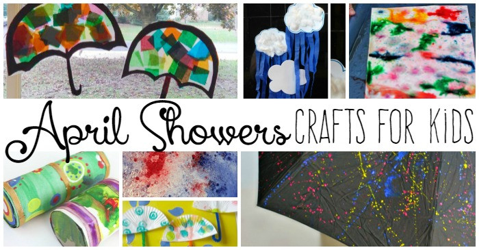 Best ideas about April Crafts For Kids . Save or Pin 20 April Showers Crafts for Kids Now.