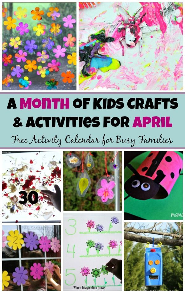 Best ideas about April Crafts For Kids . Save or Pin 30 Spring Preschool Crafts & Activities For April Now.