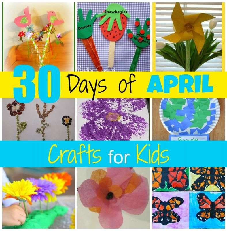 Best ideas about April Crafts For Kids . Save or Pin Mamas Like Me 30 Days of April Crafts for Kids Now.