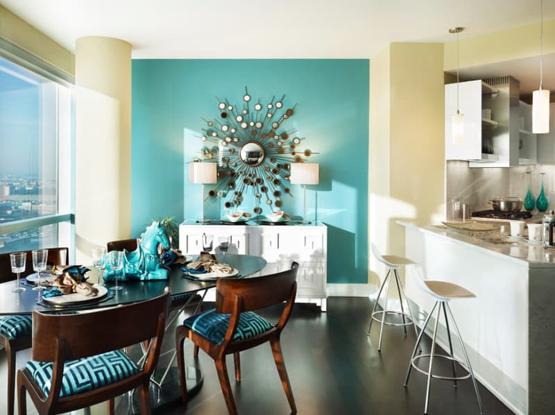 Best ideas about Aqua Kitchen Decor . Save or Pin Ideas How To Use Turquoise In A Kitchen Now.