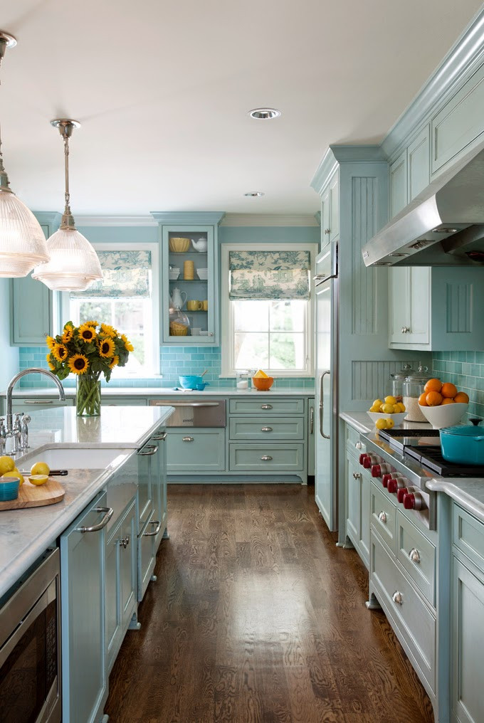 Best ideas about Aqua Kitchen Decor . Save or Pin Bud Friendly Tips For Re Decorating Your Kitchen Now.