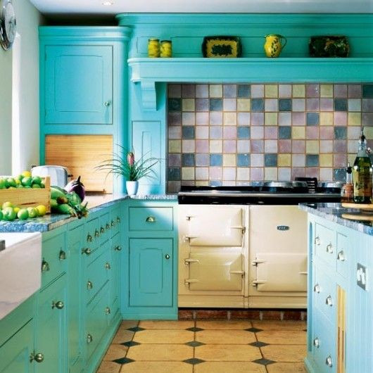 Best ideas about Aqua Kitchen Decor . Save or Pin Best 25 Turquoise kitchen cabinets ideas on Pinterest Now.