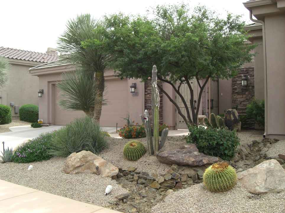 Best ideas about Arizona Landscape Ideas . Save or Pin Desert Landscaping Rock Xeriscaping in Peoria AZ Now.