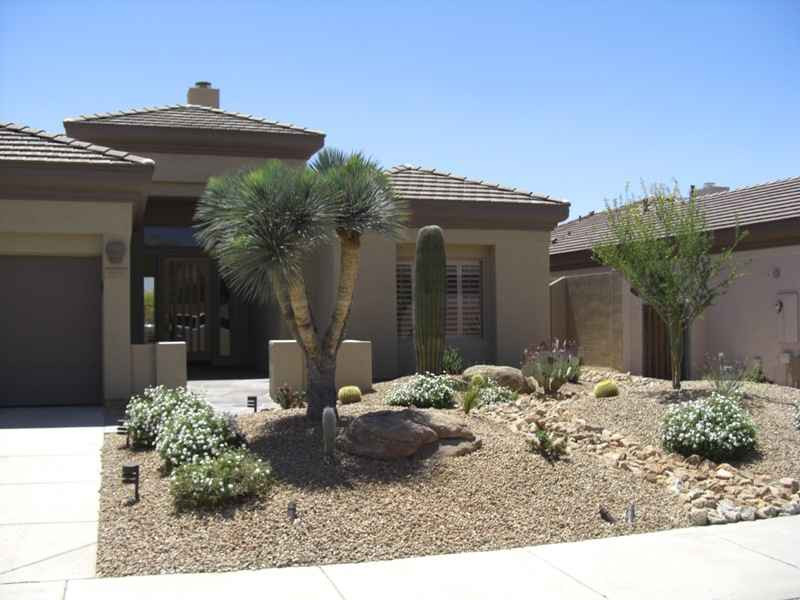 Best ideas about Arizona Landscape Ideas . Save or Pin Landscaping Tips Change Arizona Lawn to Xeriscaping Now.