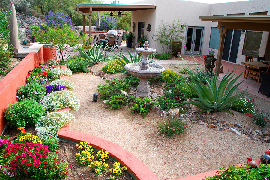 Best ideas about Arizona Landscape Ideas . Save or Pin Landscape Design and Construction by Sonoran Gardens Inc Now.