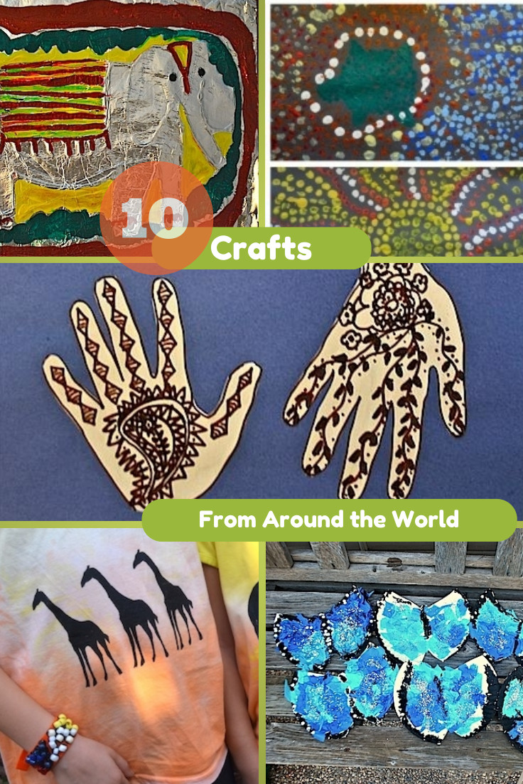 Best ideas about Around The World Crafts For Kids . Save or Pin 10 Crafts from Around the World In The Playroom Now.
