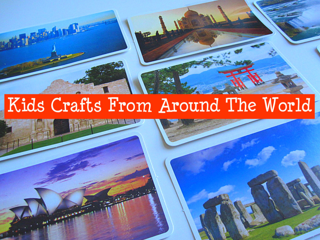Best ideas about Around The World Crafts For Kids . Save or Pin Crafts From Around The World No Time For Flash Cards Now.