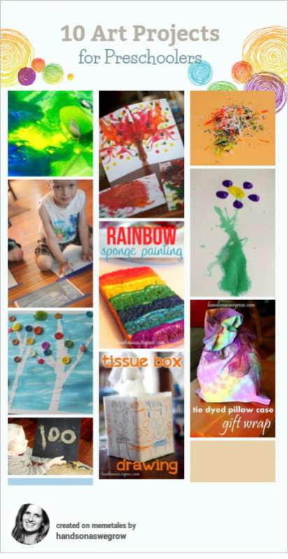 Best ideas about Art Activity For Preschoolers . Save or Pin 10 Creative Art Activities for Preschoolers Now.