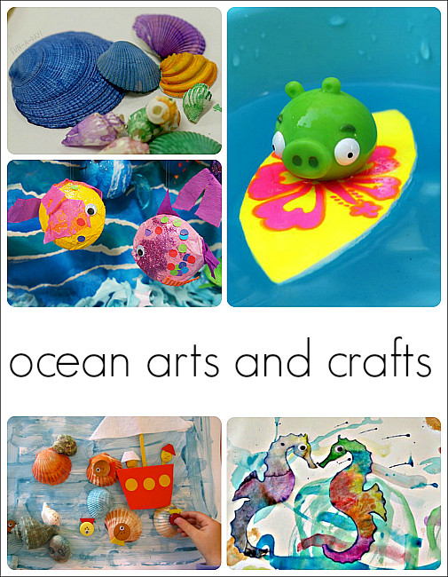 Best ideas about Art Activity For Preschoolers . Save or Pin 30 Fantastic Activities for a Preschool Ocean Theme Now.