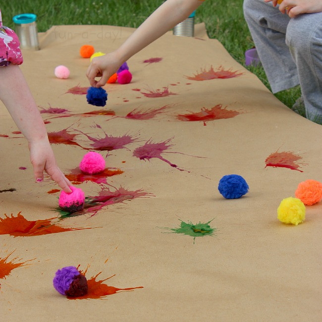 Best ideas about Art Activity For Preschoolers . Save or Pin Drop Splat Playful Preschool Art with Watercolors Now.
