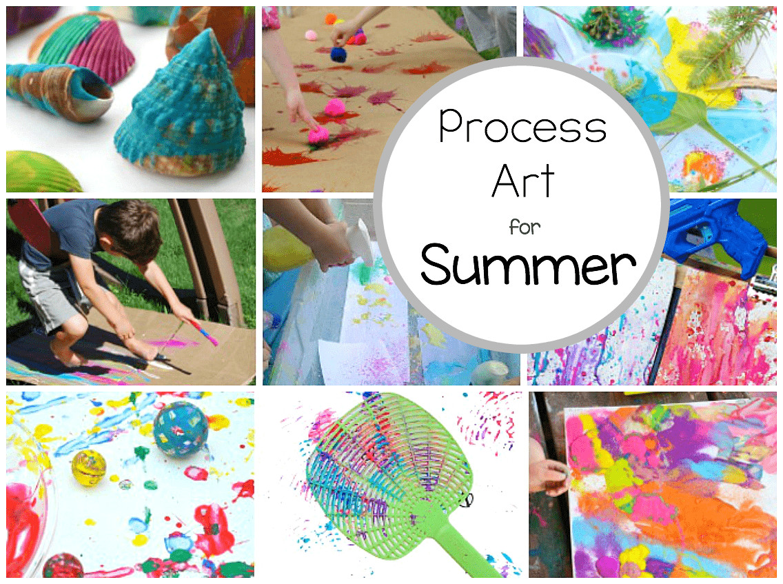 Best ideas about Art Activity For Preschoolers . Save or Pin Preschool Process Art Activities Perfect for Summer Now.