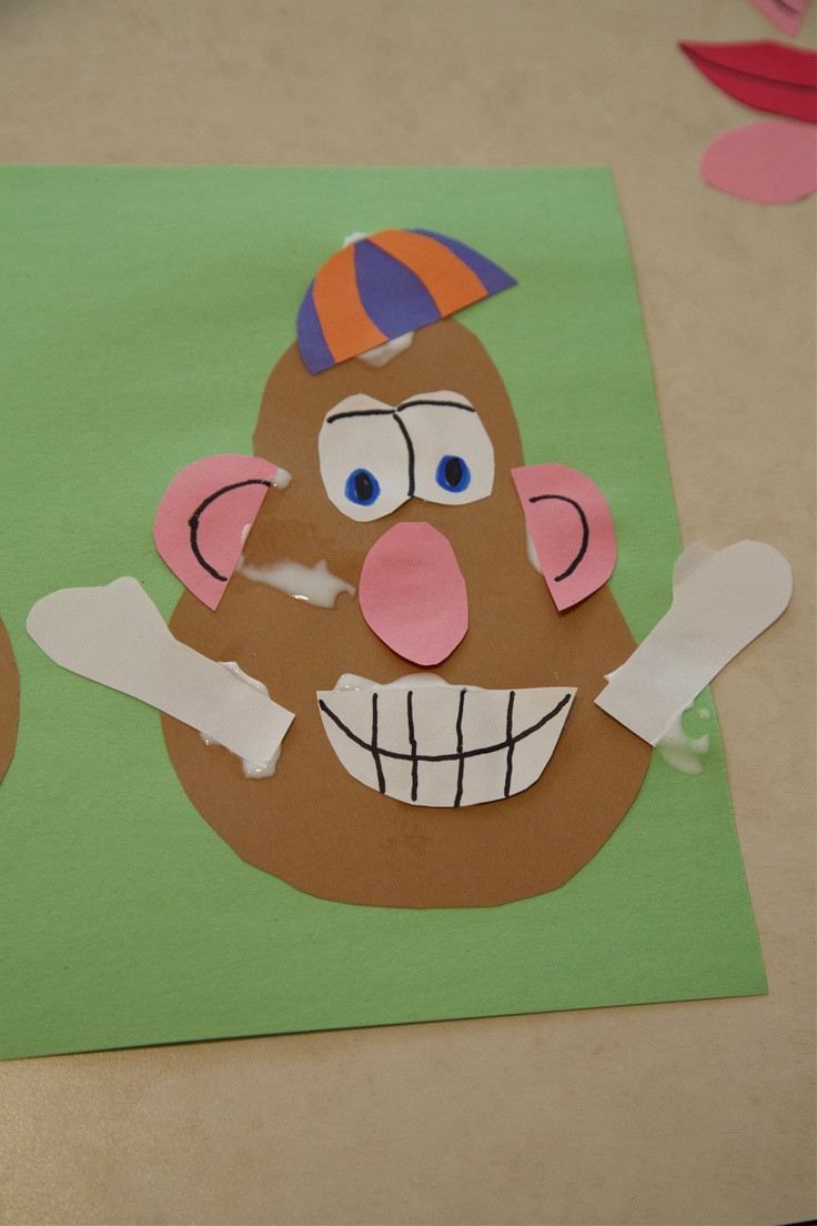 Best ideas about Art And Craft Activities For Preschoolers . Save or Pin Toddler Craft Activity Mr Potato Head Now.