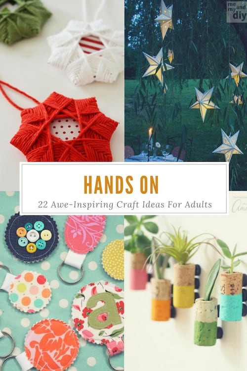 Best ideas about Art And Craft Ideas For Adults . Save or Pin 22 Awesome Craft Ideas For Adults Now.