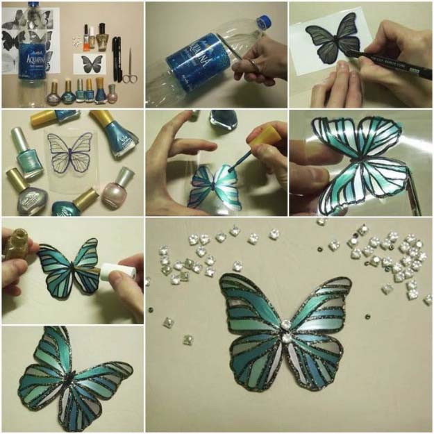 Best ideas about Art And Craft Ideas For Adults . Save or Pin 31 Incredibly Cool DIY Crafts Using Nail Polish Now.