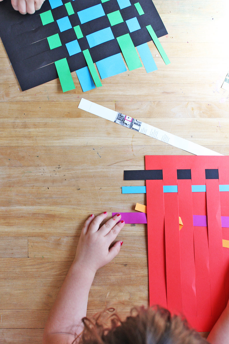 Best ideas about Art Crafts For Kids . Save or Pin Art For Kids Paper Weaving Babble Dabble Do Now.