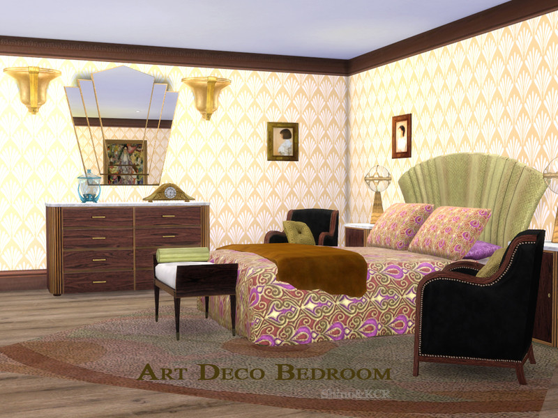 Best ideas about Art Deco Bedroom . Save or Pin ShinoKCR s Art Deco Bedroom Now.