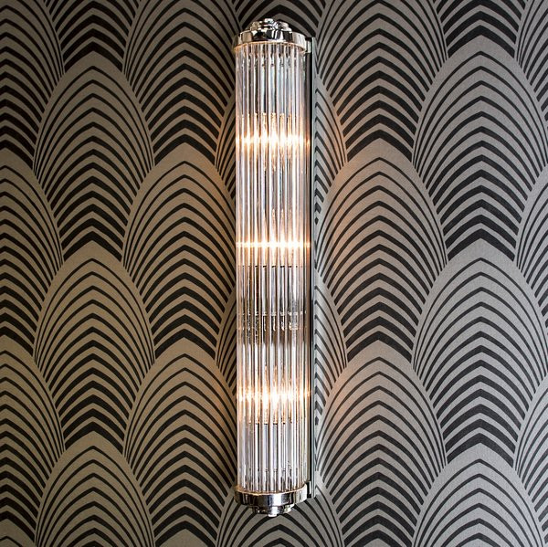 Best ideas about Art Deco Wall Art . Save or Pin 850A Gatsby Art Deco Wall Light Eames Lighting Now.