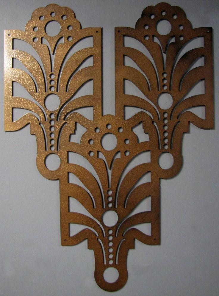Best ideas about Art Deco Wall Art . Save or Pin Top 20 Art Deco Metal Wall Art Now.