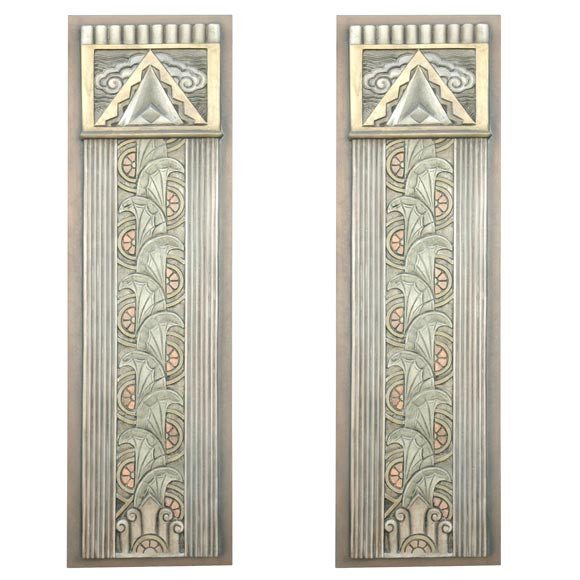 Best ideas about Art Deco Wall Art . Save or Pin Art Deco Movie Theater Wall Plaques For Sale at 1stdibs Now.